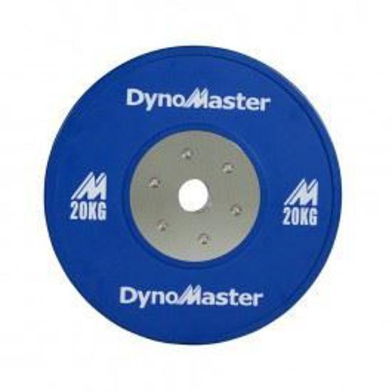 Bild von DynoMaster 2kg Gewichtsscheibe - Fractional Plate - 1 Paar